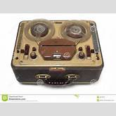 Old Tape-recorder Royalty Free Stock Photo - Image: 4574215