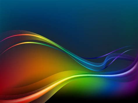 colorful waves and lines vector background free vector