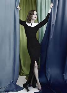 Catwalk To Photo Shoot Christian Ricci In Uk May 2008 by Ricci Shows Slim Waist In New Shoot For