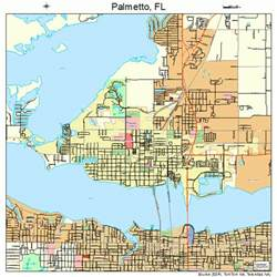palmetto florida map 1254250