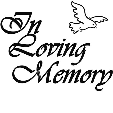 In Memory by In Memory Of Clip Cliparts Co