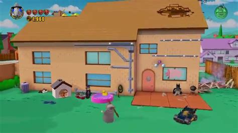 the simpsons house simpsons house back yard intro lego dimensions youtube