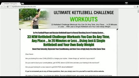 ultimate kettlebell challenge workouts review