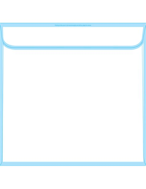 booklet envelope template booklet envelopes 10 x 15 back free