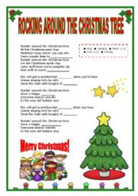 christmas tree songs for kids tree worksheets