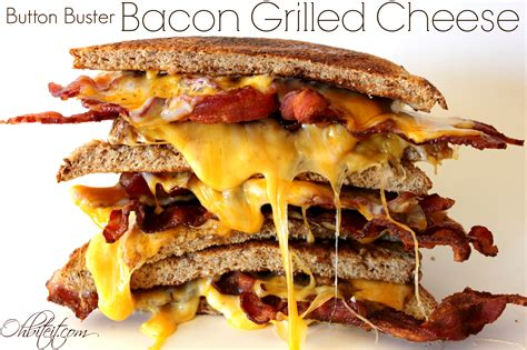 grilled cheese bacon grilled cheese oh bite it