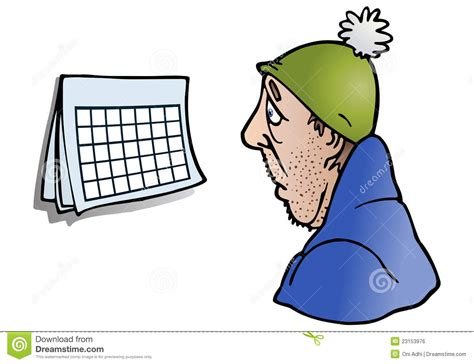 Look At The Calendar Look At A Blank Open Calendar Page Royalty Free Stock