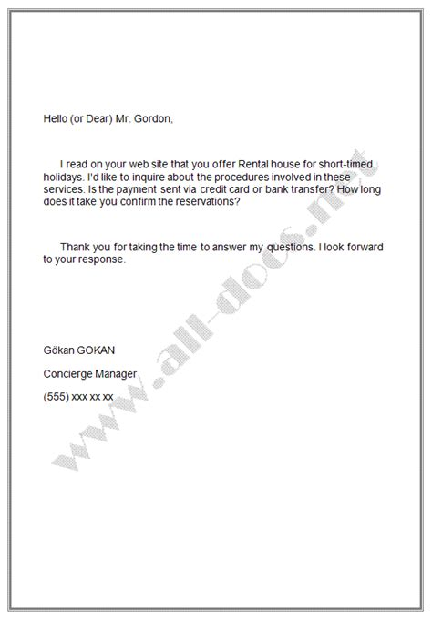 how to write a formal email letter email letter sle