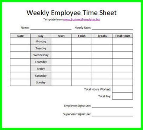 printable time sheets bi weekly 10 free printable bi weekly time sheets supplyletter