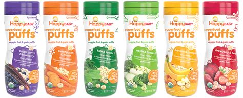 Happy Baby Organic Puff healthy snacks malaysia happy baby organic superfood