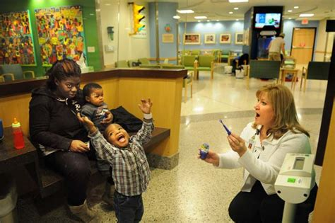 St S Hospital Emergency Room by Children S Hospitals Christens Its Renovated Emergency
