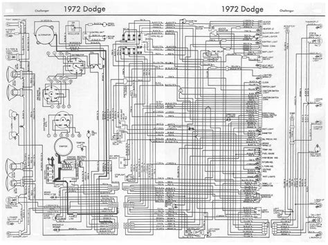 1972 dodge dart wiring diagram dodge challenger 1972 complete wiring diagram all about
