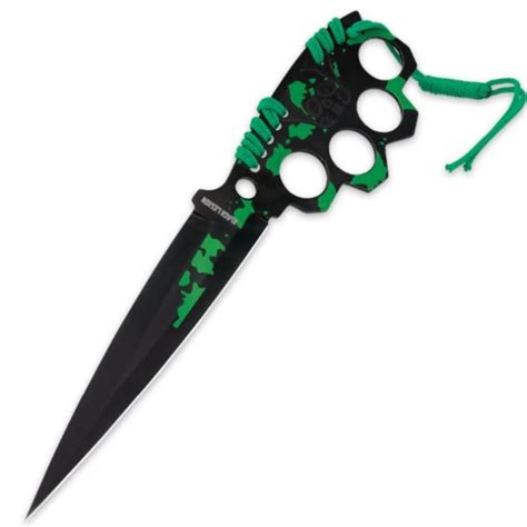 knuckle guard knife black legion knuckle guard fixed blade trench knife for