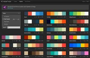 color kuler amazing colour resources for designers
