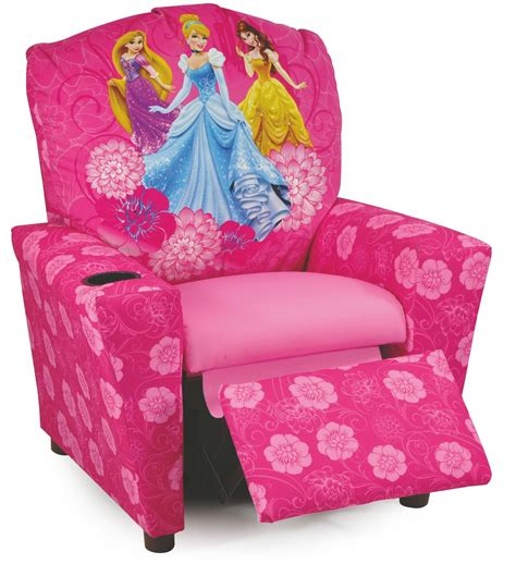 disney princess recliner disney princesses kids recliner from kidz world 1300 1 dp
