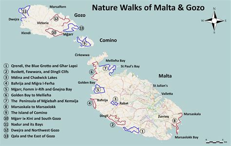 walking maps books walks maps walking in malta and gozo