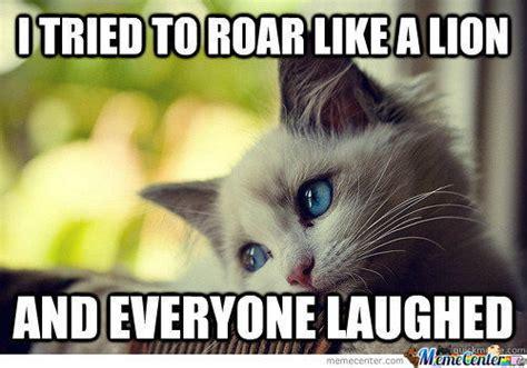 Lion Meme - lion roar meme gallery