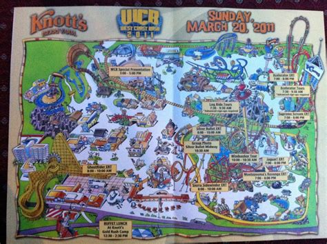 knotts berry farm map knott s berry farm west coast bash 2011