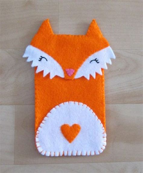 Handmade Phone Covers - 155 best images about felt fox wolf on