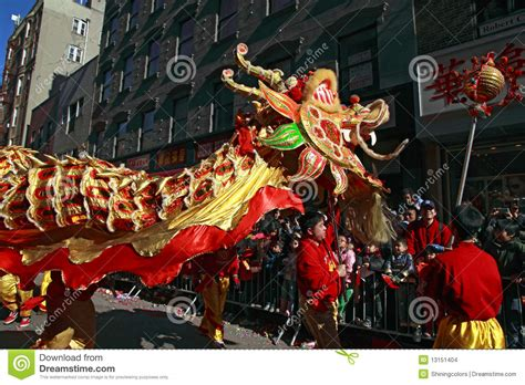 chinatown new year festival chinatown new year parade editorial stock image image