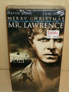 merry christmas  lawrence vhs   sealed  ebay