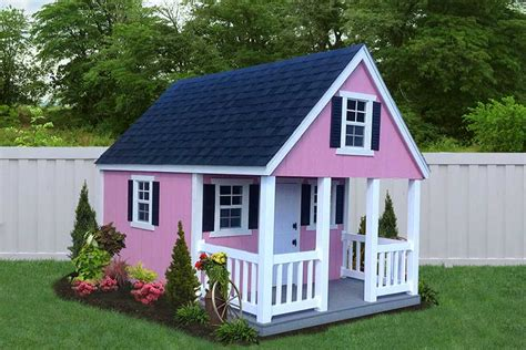 Two Story Tiny House by Playhouse Package Liberty Storage Solutions