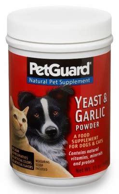 garlic powder for dogs petguard yeast and garlic powder 12 oz