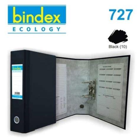 Odner Bindex 717 727 777 Biru Hitam harga ordner bindex folio 5 cm warna hitam