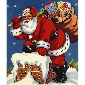 christmas 4x6 paper frame pf 3035 santa and a bag of