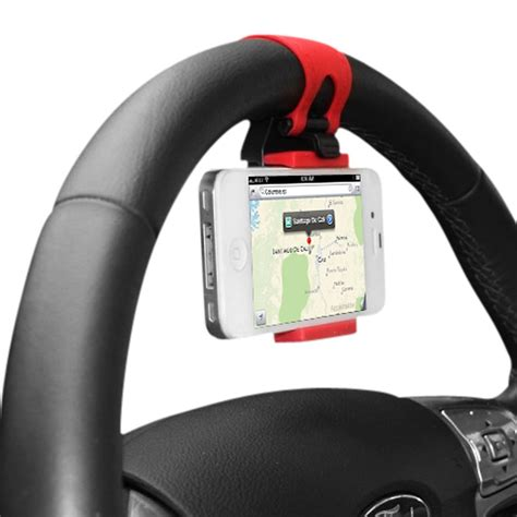 support voiture attache volant pour smartphone supports voiture sup stair