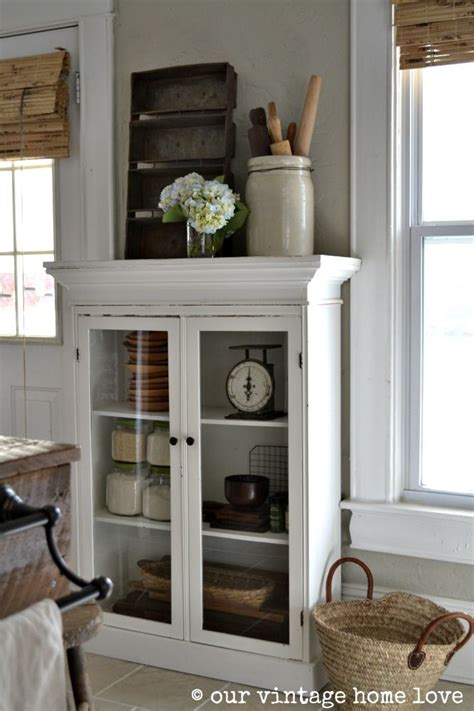 our vintage home love how to build a rustic kitchen table our vintage home love this cabinet would be perfect for