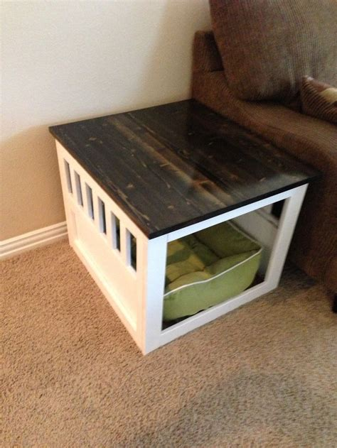 dog crate table top best 25 dog crate end table ideas on pinterest dog