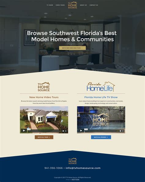 home designer pro website tv home source professional website design by notion design group