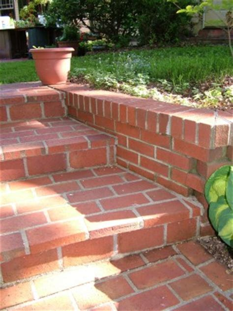 How To Lay Brick Patio Brick Steps Ask The Builderask The Builder