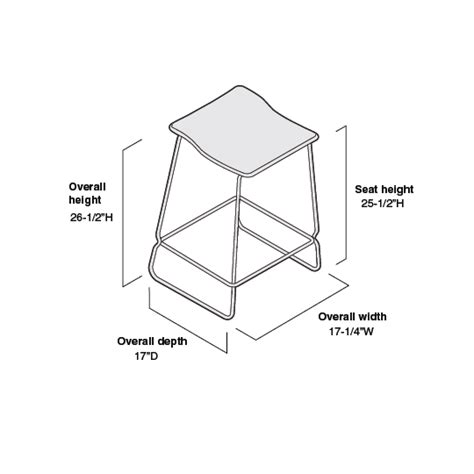 Stool Dimensions by Last Minute Stool Product Dimension