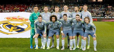 imagenes del real madrid todo el equipo 2015 ligamx am 233 rica jugar 225 contra monstruo de europa para