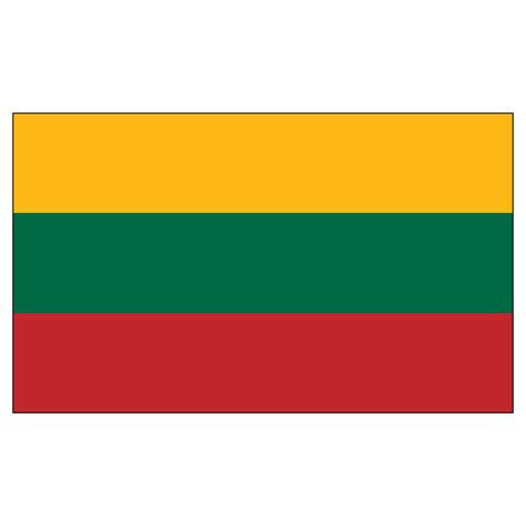 Home Decorative Lighting by Lithuania Flag 3ft X 5ft Nylon