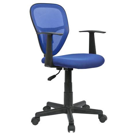 chaise de bureau pour enfant chaise de bureau pour enfant studio bleu mobil meubles