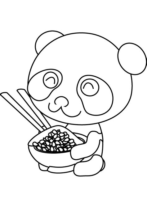 panda coloring pages panda printable coloring pages