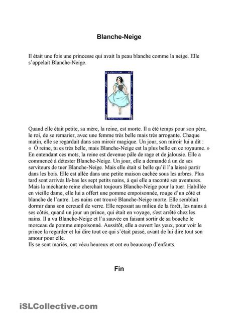 chanson douce blanche french b01h59a63o blanche neige pass 233 compos 233 imparfait printables student centered resources and worksheets