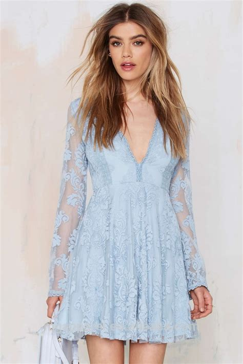 light blue lace dress with sleeves image gallery light blue lace dress
