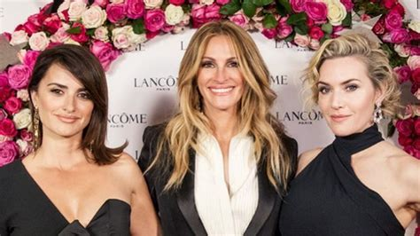 Penélope Cruz, Julia Roberts and Kate Winslet relive ?My