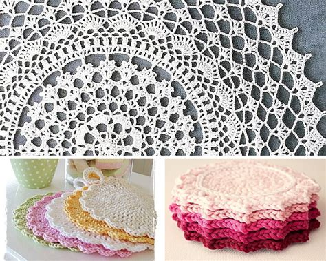 free crochet patterns for home decor new free crochet doily patterns karla s making it