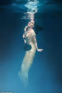 black and white underwater nudes by harry fayt monovisions linzi stoppard models low cut black gown in emma jane