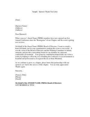 Sponsor Thank You Letter Sles Sports Sponsorship Quotes Quotesgram