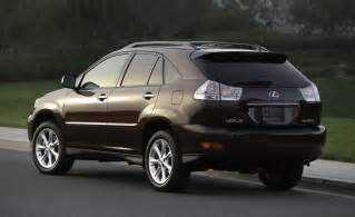 lexus rx 350 review 2008