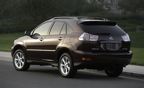 lexus rx 2008 car and driver