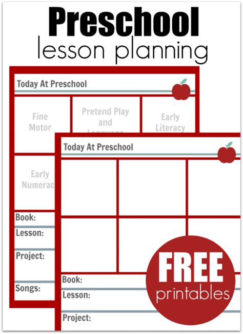Must Read Advice For New Preschool Teachers No Time For Flash Cards Simple Lesson Plan Template For Preschool