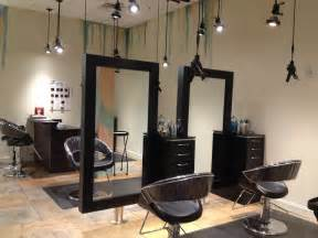 Interior Hair Salon Lighting Ideas by Salon Stations Spacious Open Wilmington Location
