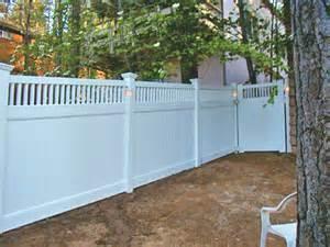 solar post lights for decks vinyl fence creations fencing decks gates railings